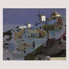 Ken Howard Windmills at Santorini (LF)-1.jpg