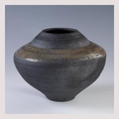 Winter vessel, essex, tyler, gallery, art, cornwall, painting, raku, pottery, local, crafts